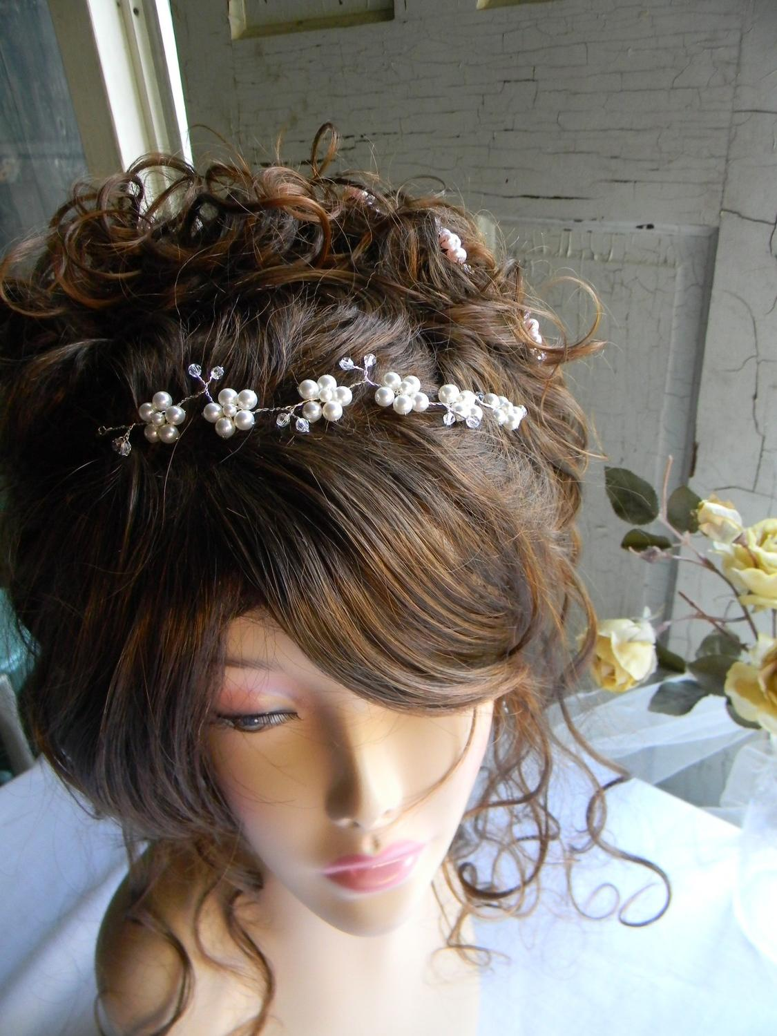 wedding hair tiara