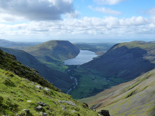Wastwater in the distance