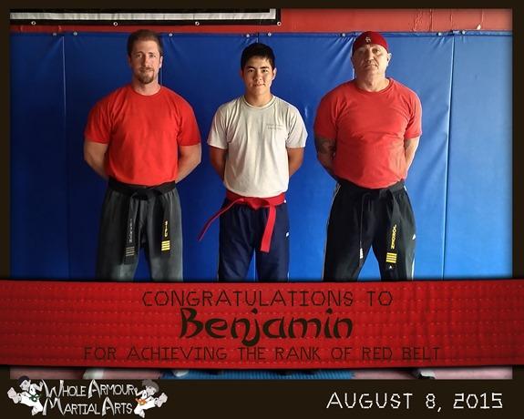Benjamin-REDbelt