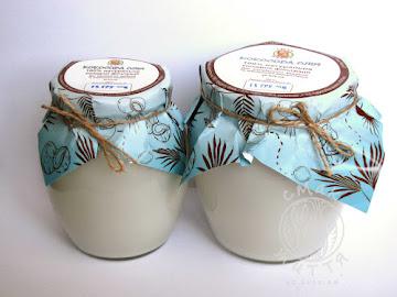 Олія сиродавлена кокосова Скло