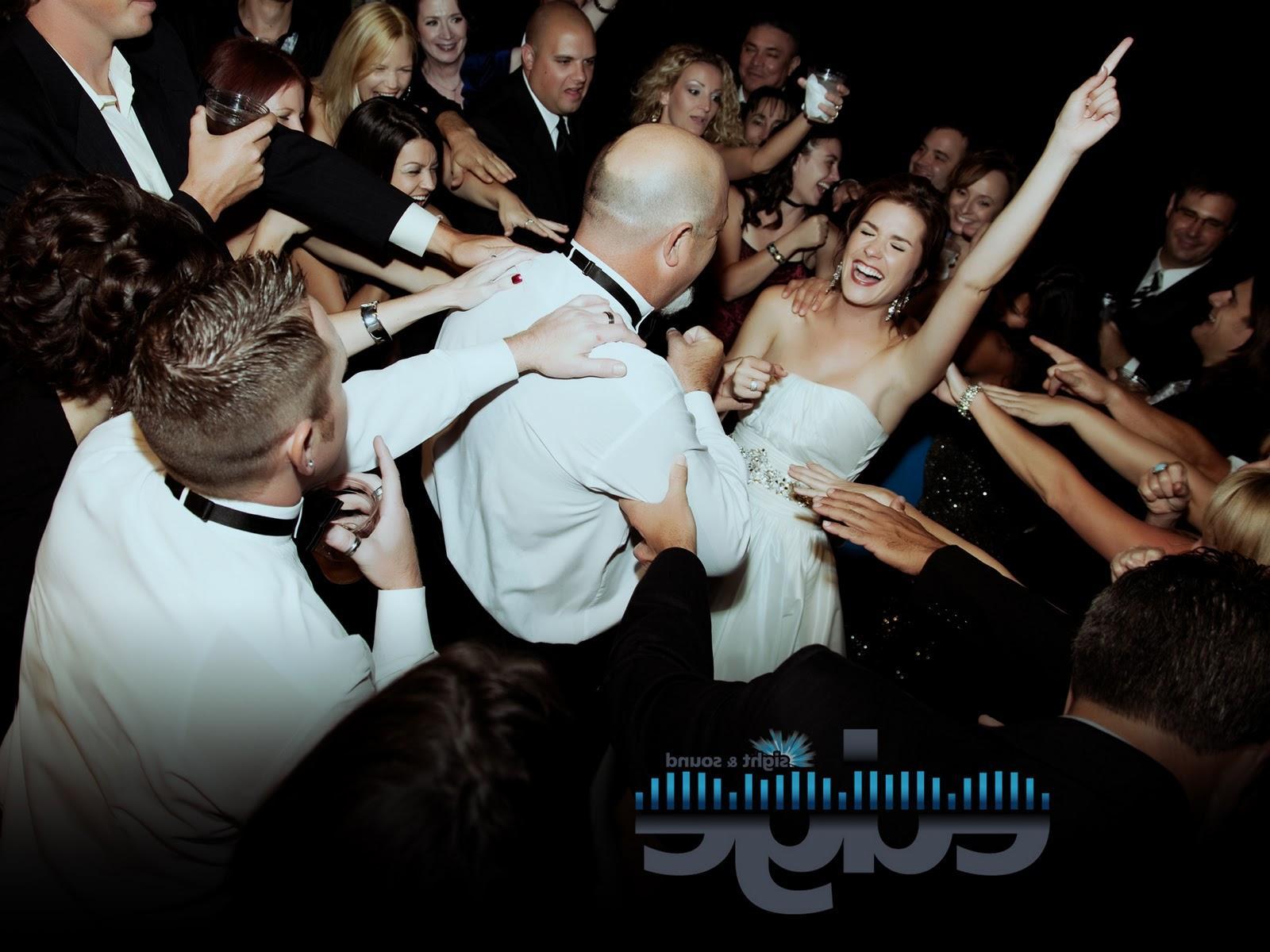 hold a wedding reception