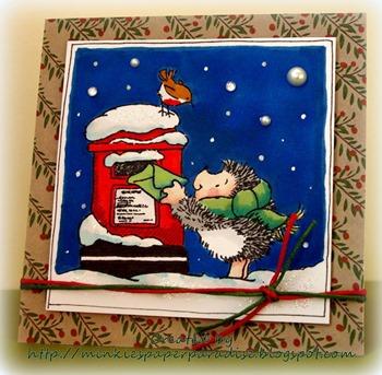 Shelly - mega Christmas challenge