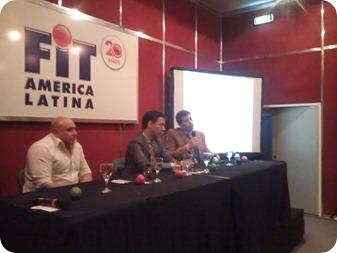 El secretario de Turismo, Rodrigo Torre, fue el encargado de hablar del Sello de Calidad Turística