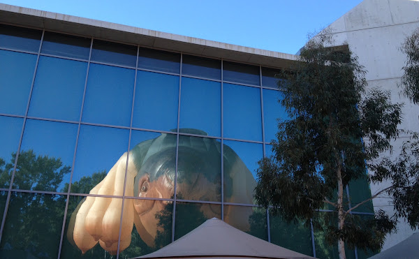 skywhale reflected