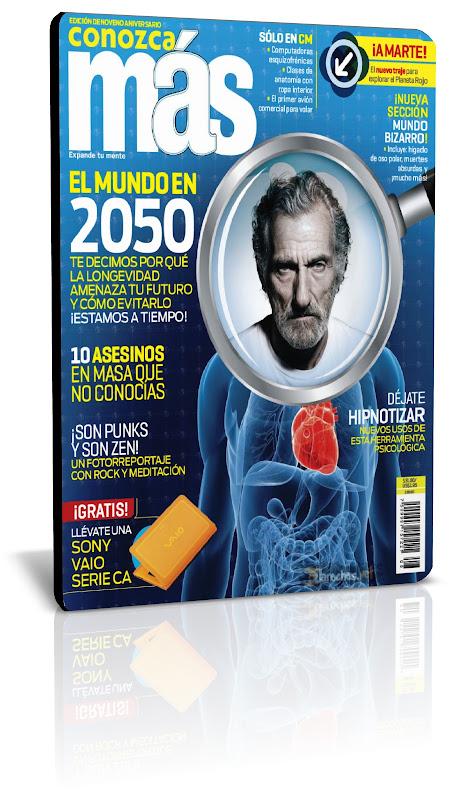 Revista: Conozca Más [México] - Agosto 2011 [28.58 MB | PDF | Español]