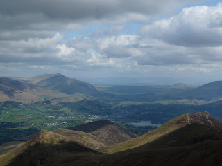 Keswick from Crag Hill