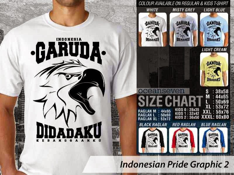 KAOS Indonesia Garuda di Dadaku Indonesian Pride Graphic 2 distro ocean seven