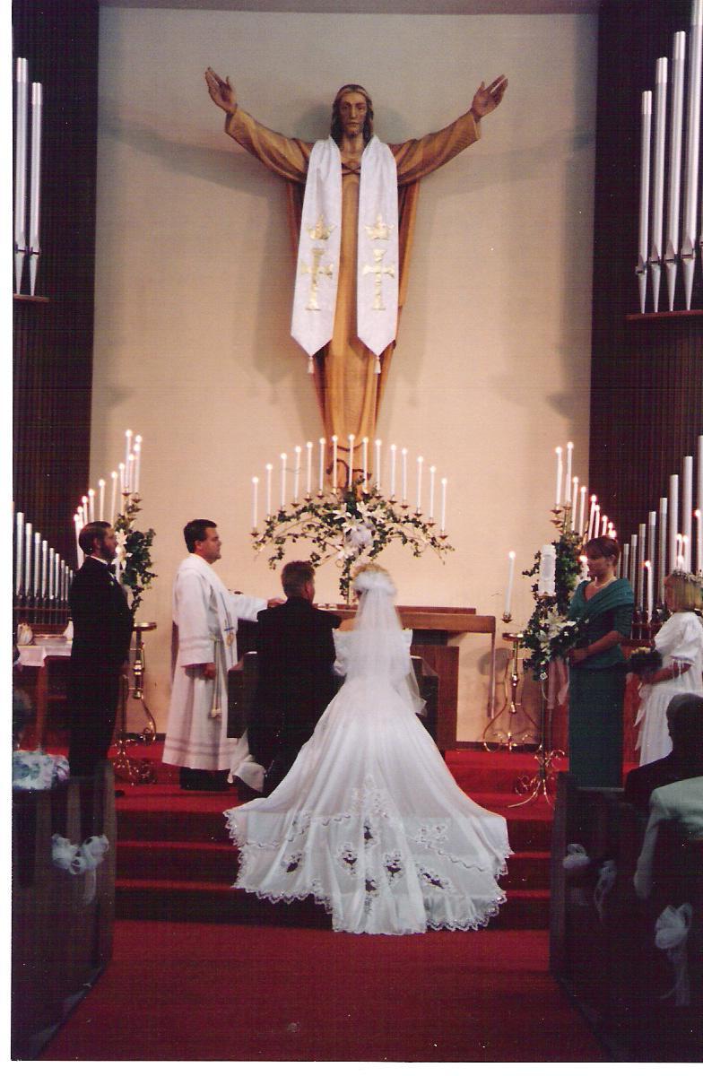 catholic wedding art