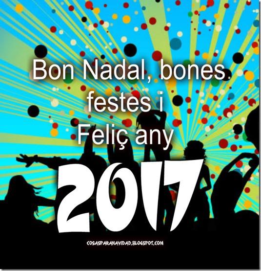 Bon Nadal i bones festes 2017
