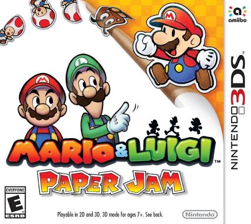 [GAMES] Mario And Luigi Paper Jam (3DS/USA)