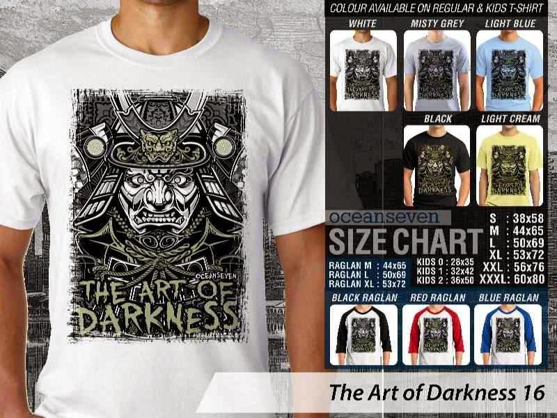 KAOS keren The Art of Darkness 16 distro ocean seven
