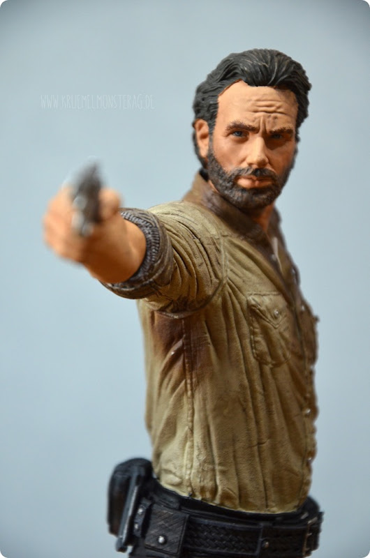 #twd (05) The Walking Dead McFarlane Action Figure Deluxe Rick Grimes