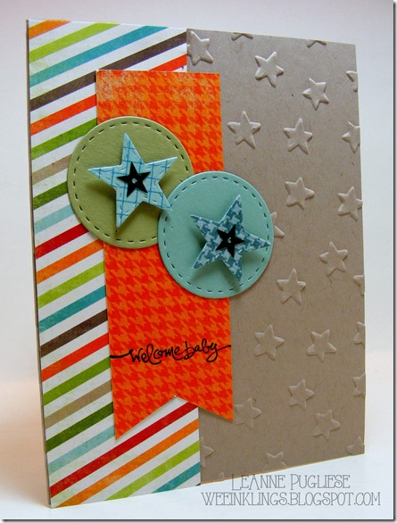 LeAnne Pugliese WeeInklings Welcome Baby Stampin Up