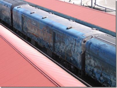 IMG_7636 Christmas Carol Train Car MRLX #800863 at Union Station in Portland, Oregon on July 1, 2009
