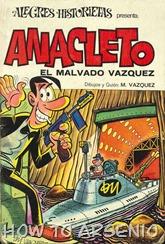 Alegres Historietas 09 Anacleto 02 El malvado Vazquez