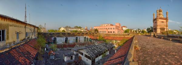Chennai oldhouse roof ченнай заброшенное здание