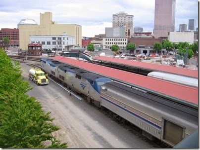 IMG_0749 Amtrak Trains at Union Station in Portland, Oregon on May 10, 2008