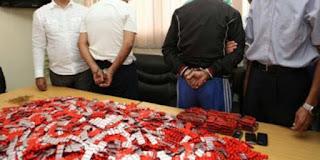 Deux dealers arrêtés: 12.000 comprimés psychotropes saisis