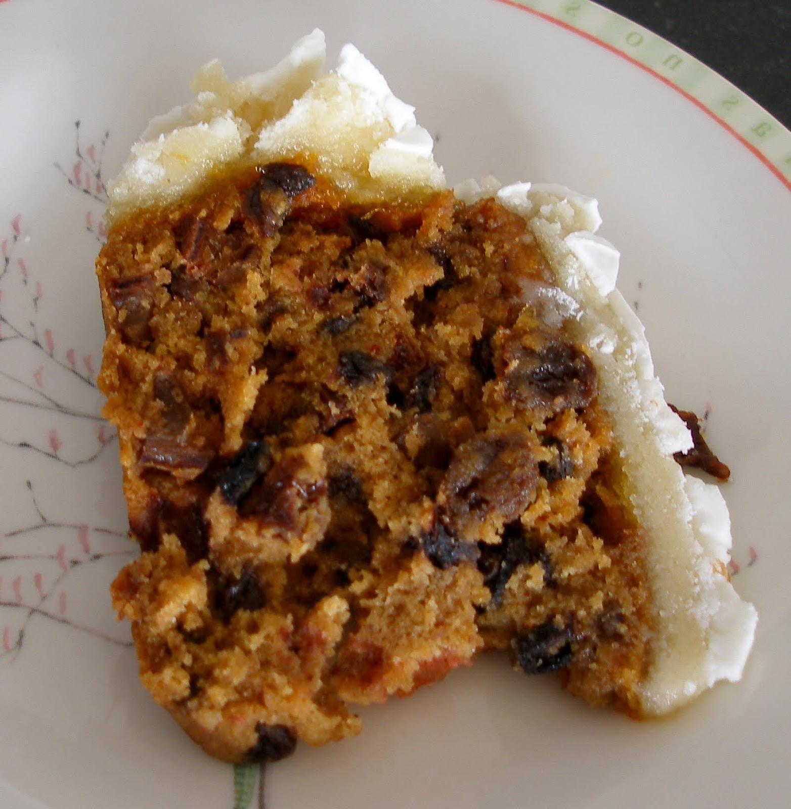A simple Christmas cake