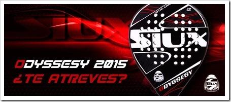 Siux presenta la nueva pala Odyssesy 2015, ¿te atreves?