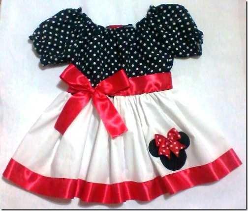vestido minne mouse para cumpleaños (5)