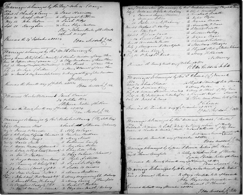 ROSETTE_Almira marriage to George HALL_11-Mar-1834_New Jersey_image