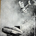 Karl Meyer and Erich Kästner  attacking British airship C 17 on 21.04.1917