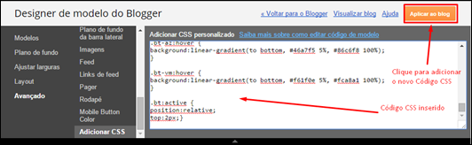 Crie botões personalizados para o seu Blogger - Visual Dicas