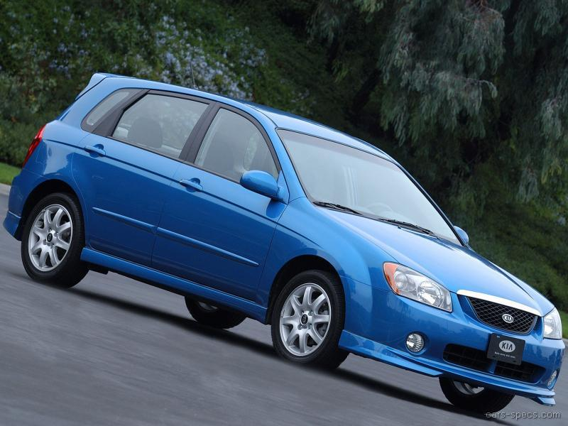 2005 kia spectra wagon specifications pictures prices. Black Bedroom Furniture Sets. Home Design Ideas