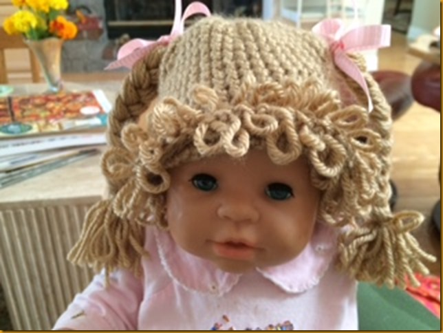 cabbage patch wig