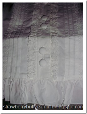 Bodyline blouse upclose