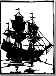 Mayflower silhouette