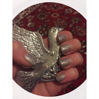 Sensationail - NOTD - Silver Glitter