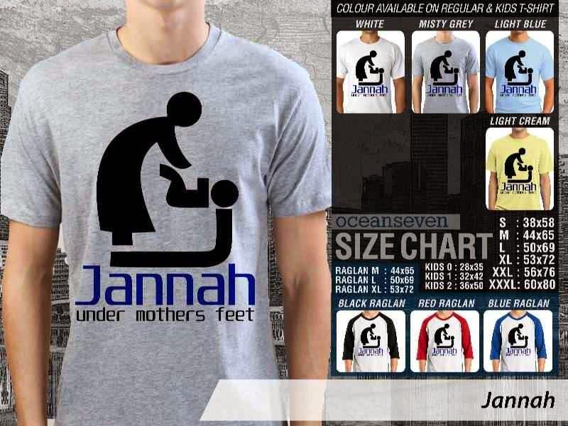 KAOS Muslim Islam Jannah distro ocean seven
