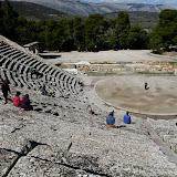 The Amphitheater at Epidauros