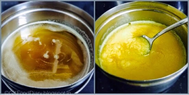 Homemade Ghee Recipe for Babies (From Butter) | How to Make Ghee at Home 7