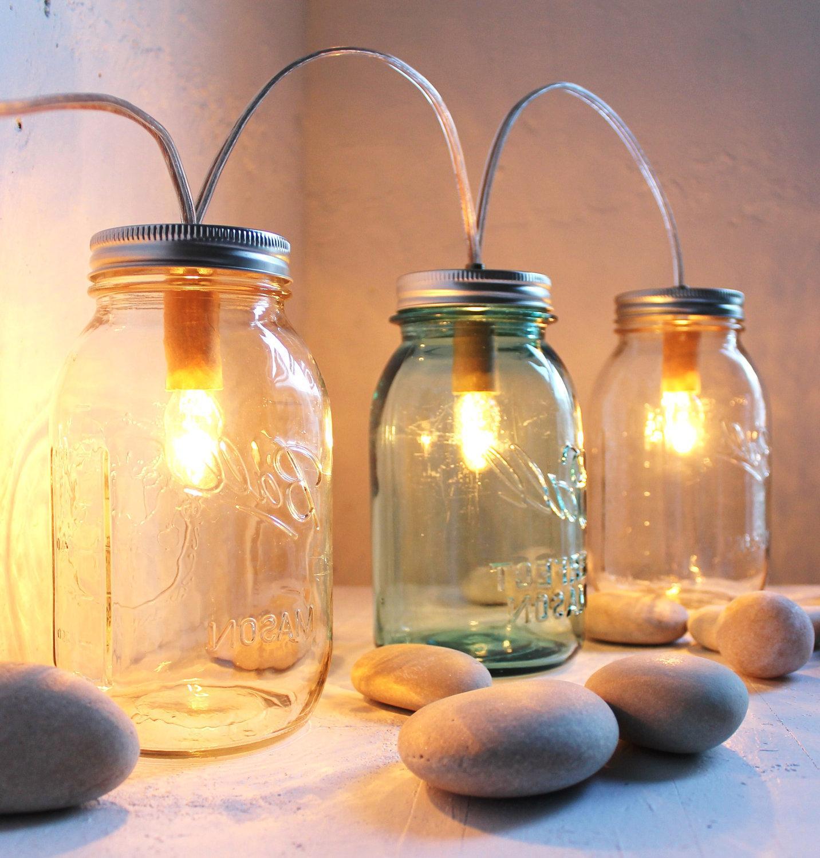 Winter Cabin Lights -Mason Jar