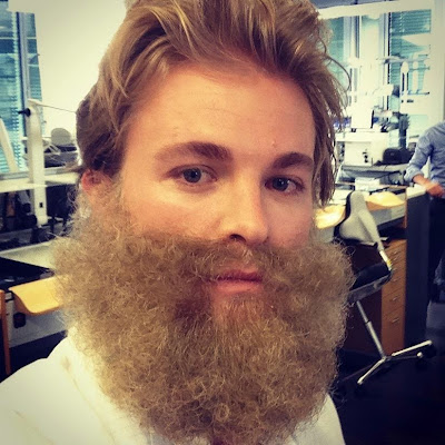 бородатый Нико Росберг на съемках для IWC Watches - 27 августа 2014
