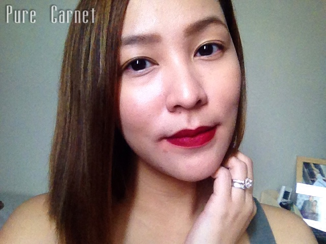 L'Oreal Paris Star Collection Matte Reds in Pure Garnet