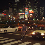 in Shinjuku, Tokyo, Japan