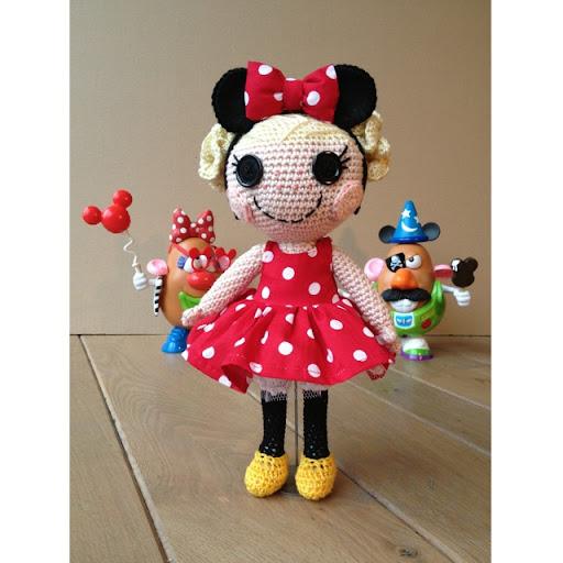 Sock Monkey Amigurumi Pattern : Amigurumi, crochet and sewing: free pattern lalaloopsy doll