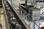 Usine de compostage des déchets de Lézinadou - Intérieur