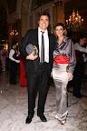 Guillermo Andino y su mujer Carolina Prat