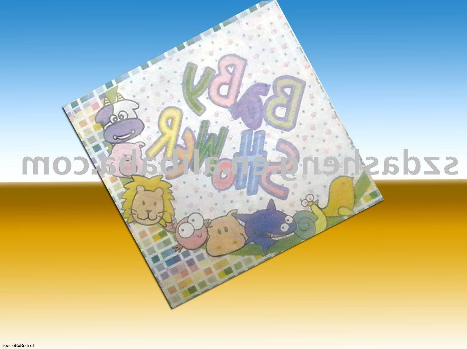 printed fold napkin,design
