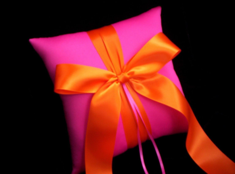 Orange Bridal Wedding Ring