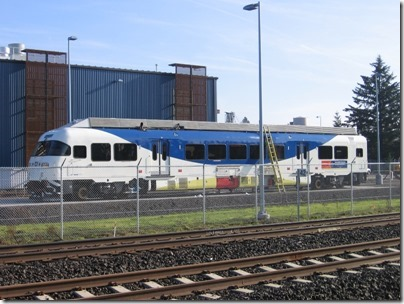 IMG_5014 TriMet Westside Express Service DMU #1003 in Wilsonville, Oregon on January 14, 2009
