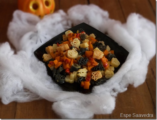 pasta halloween lidl espe saavedra