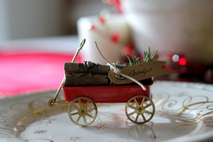 Vintage Wagon & Log Place Cards by homework (carolynshomework (2)