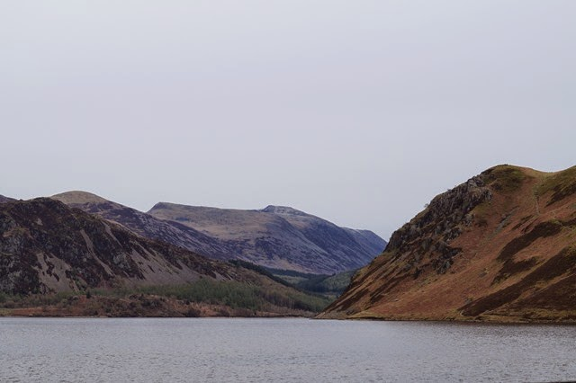 walk round Ennerdale lake
