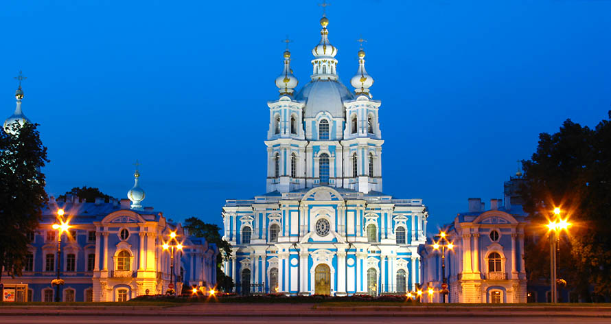 Smolni Cathedral, St. Petersburg